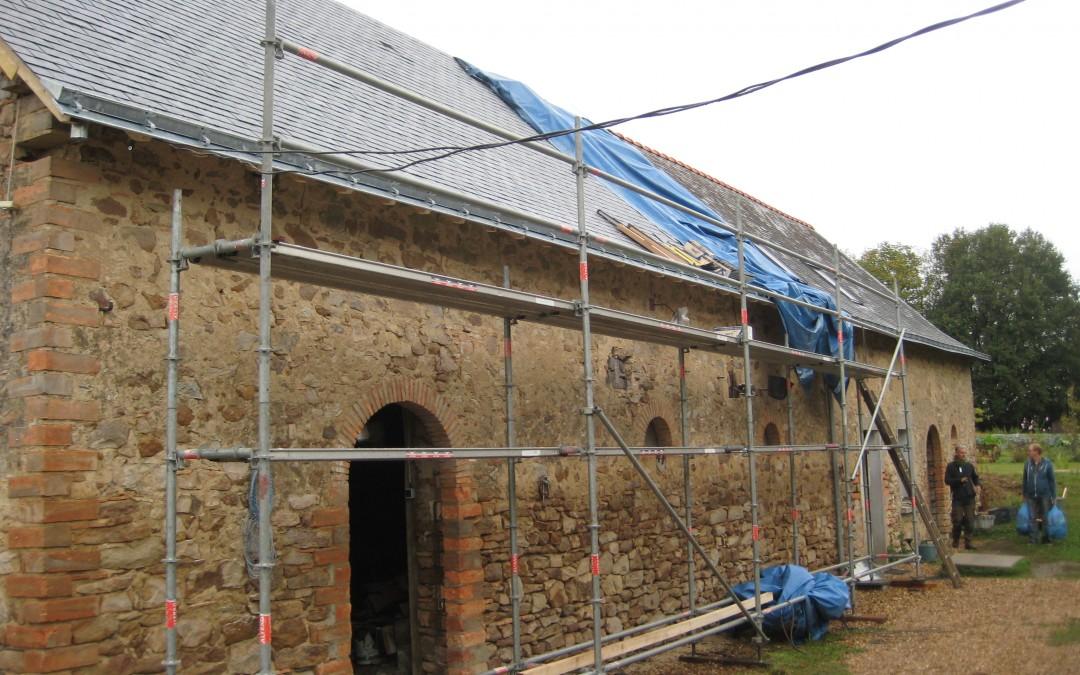 longère, rénovation maison, toiture