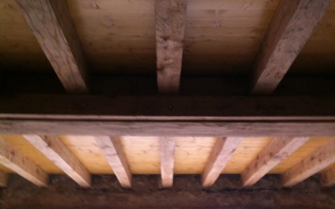 longère, rénovation maison, plafond