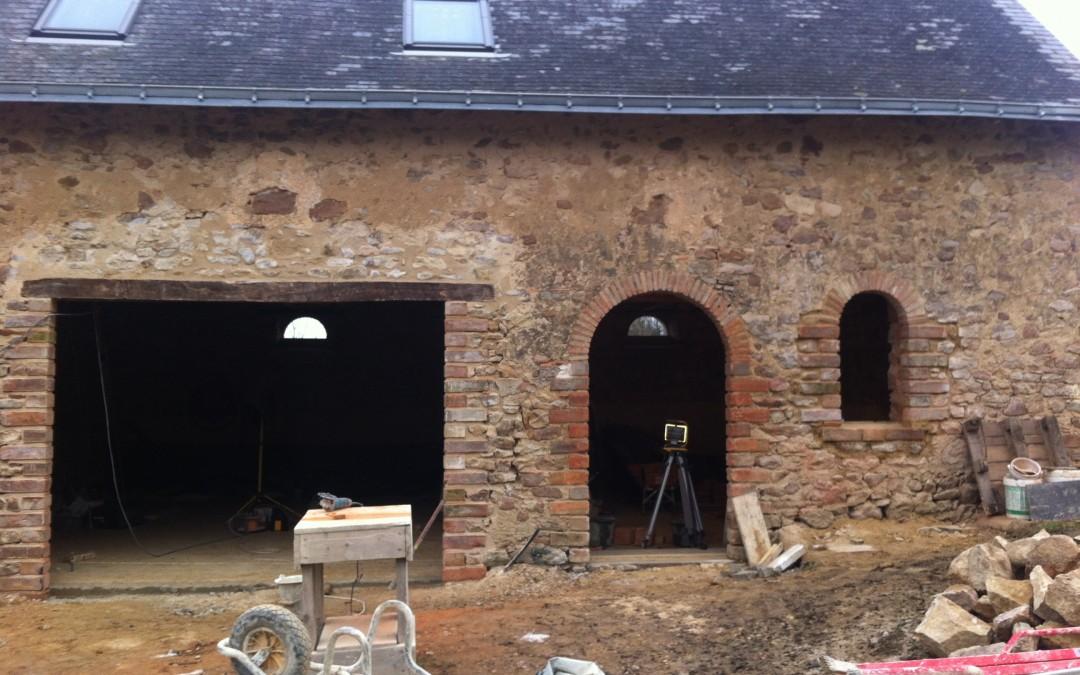 longère, rénovation maison, maçonnerie