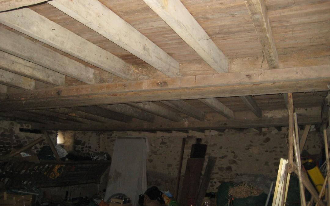 longère, rénovation maison, charpente