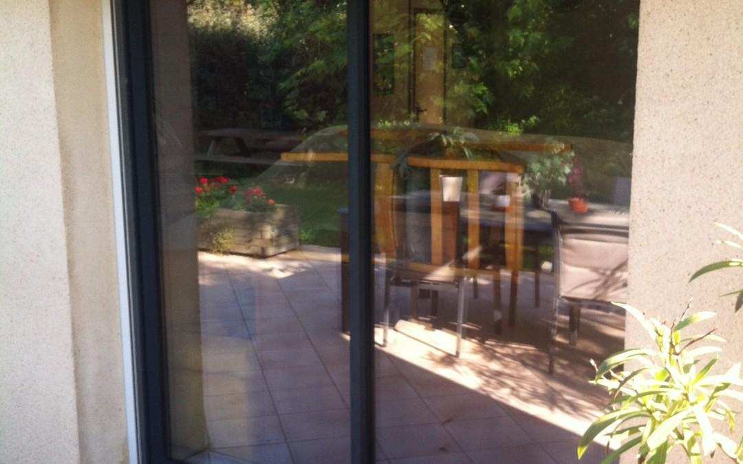 rénovation maison, baie vitré extérieur
