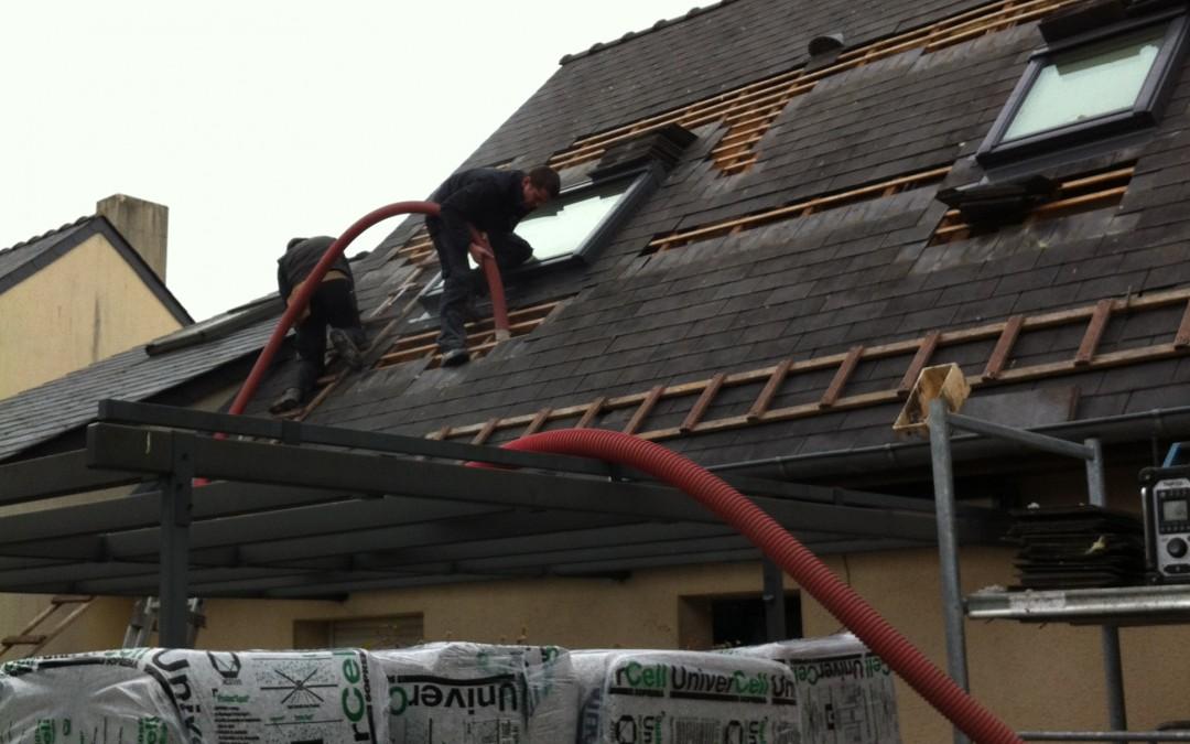rénovation maison, toiture