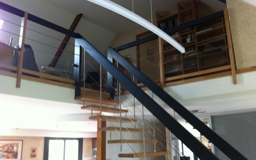 rénovation maison, escalier