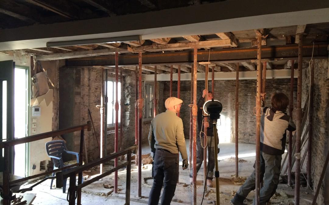 Rénovation d'une maison à Angers suite …
